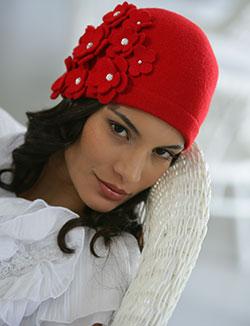 Как украсить женскую шапку своими руками фото